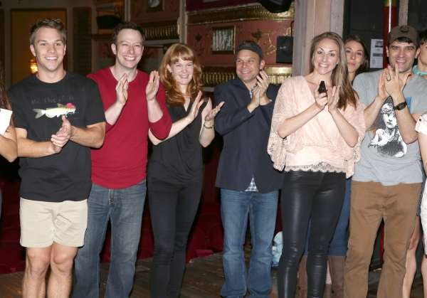 Photo Coverage: BIG FISH's Angie Schworer Receives Gypsy Robe!