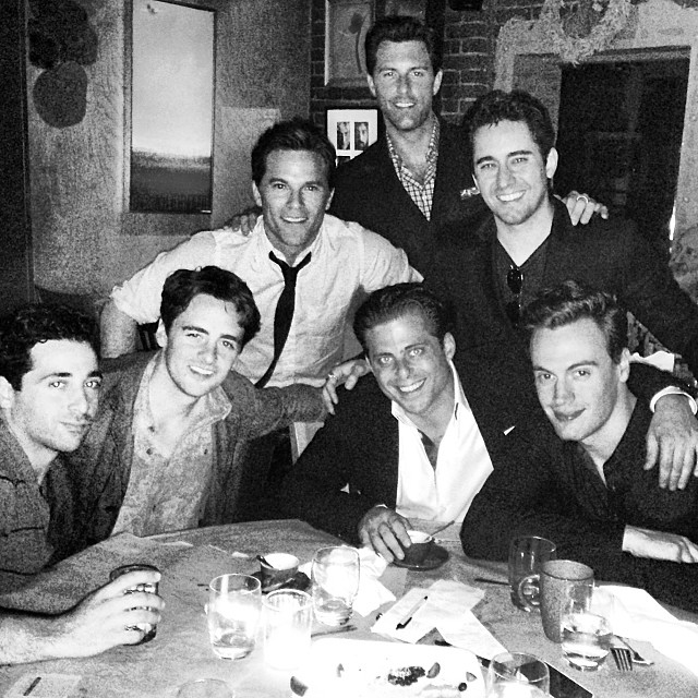 Final Week Of Filming On JERSEY BOYS Movie! First Group Photo; Eastwood, Young & More