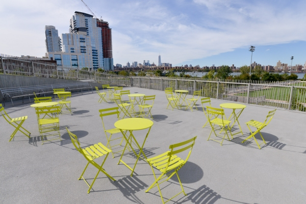 Photos: NYC PARKS CUTS THE RIBBON ON THE SECOND PHASE OF RENOVATIONS TO BUSHWICK INLET PARK