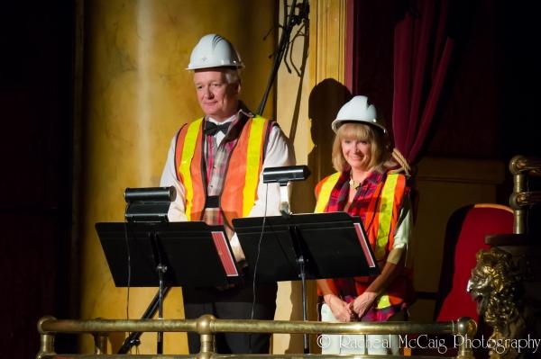 Colin Mochrie and Deb McGrath