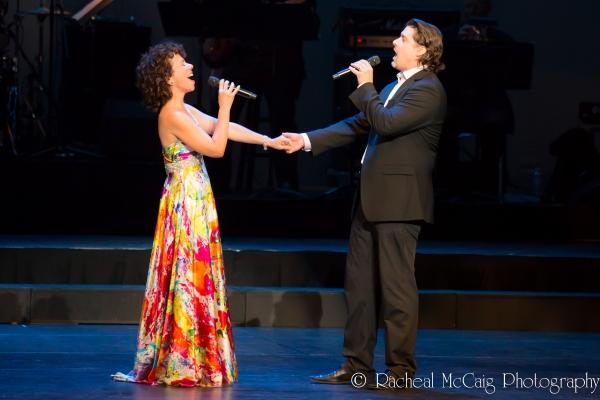 Stephanie Martin and Adam Brazier Photo