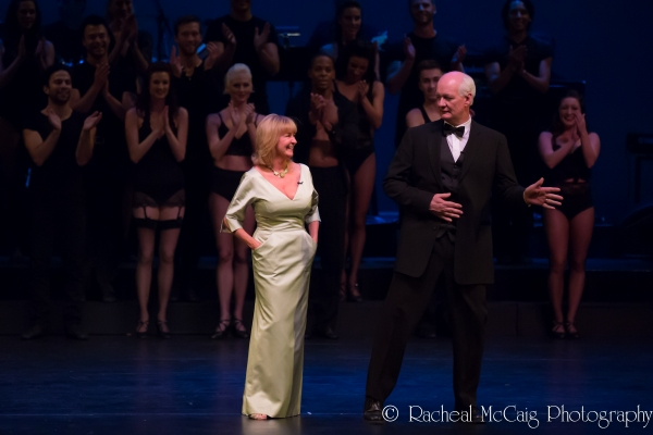 Deb McGrath and Colin Mochrie