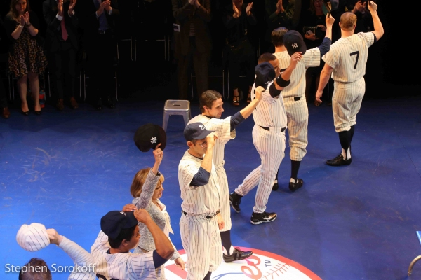 Photo Coverage: Cast of Primary Stages' BRONX BOMBERS Celebrates Opening Night Off-Broadway