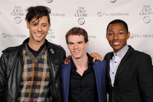 Hale Appleman, Jay Armstrong Johnson and Brandon Gill