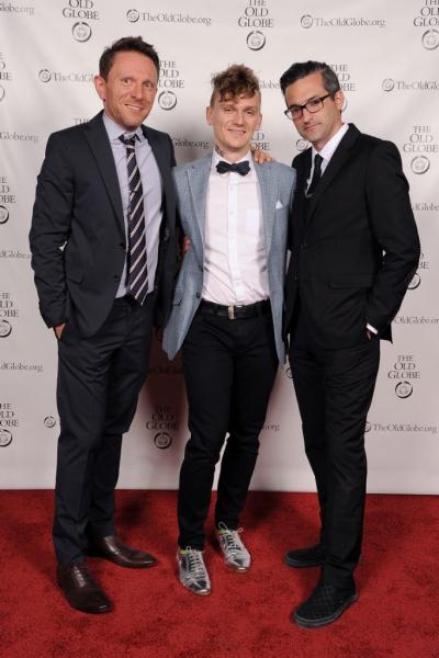 Kris Kukul, Adam Cochran and Michael Kimmel