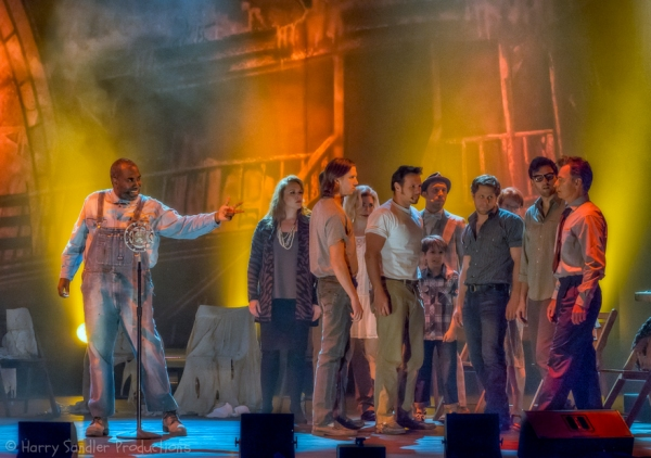Photo Flash: Sneak Peek at Bruce Greenwood, Emily Skinner and More in GHOST BROTHERS Tour