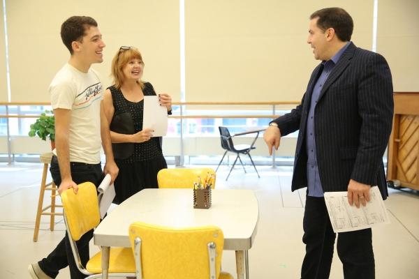 Coby Getzug, Annie Golden and director John Simpkins