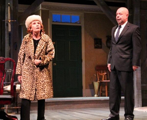 Colleen Smith-Wallnau (Hoboken) as Helga and Paul Whelihan (Bloomfield) as Porter Photo