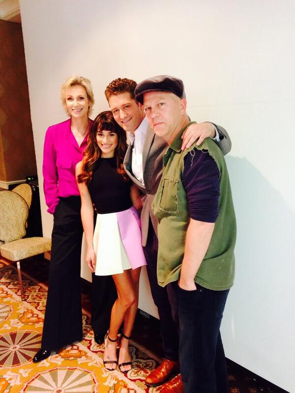 Michele, Morrison, Murphy & Lynch Attend GLEE Panel & Share Monteith Memories