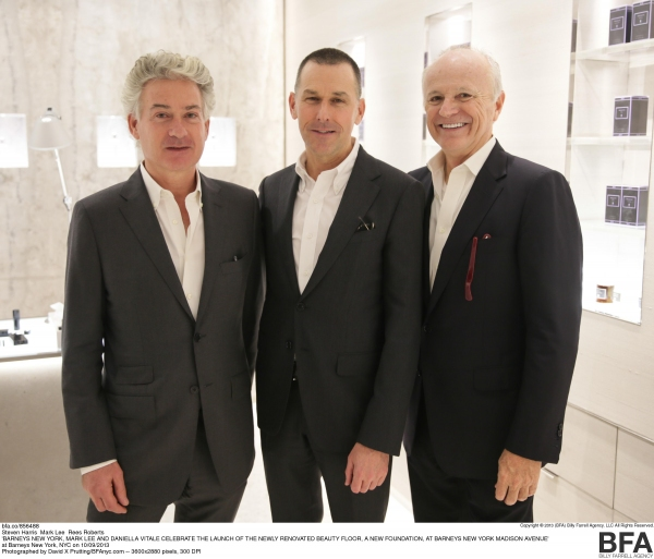Steven Harris, Mark Lee, Rees Roberts