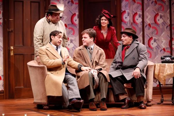 Seated, Ben Steinfeld, Eric Bryant, Jim Bracchitta; standing Richard Ruiz and Zoe Win Photo