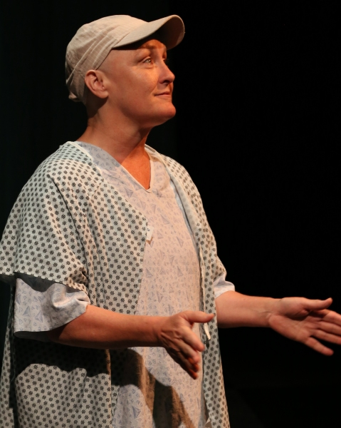 Photo Flash: First Look at Deborah Gilmour Smyth in Lamb's Players Theatre's WIT
