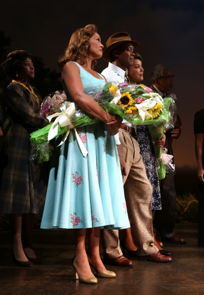 Cicely Tyson and Leon Addison Brown with cast Photo