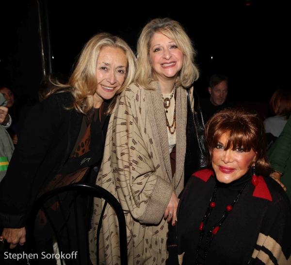 Eda Sorokoff, Julie Budd, Connie Francis