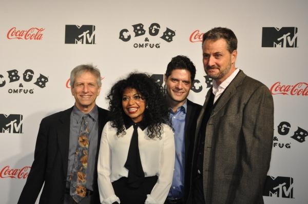 Ira Pittelman, Rebecca Naomi Jones, Tom Kitt and Doug Hamilton Photo