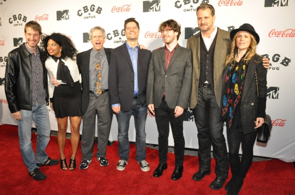 Rob Tinworth, Rebecca Naomi Jones, Ira Pittelman, Tom Kitt, John Gallagher, Jr., Doug Hamilton and Libby Winters
