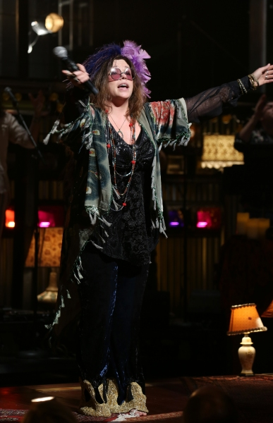 Photo Coverage: Mary Bridget Davies & A NIGHT WITH JANIS JOPLIN Cast Take First Broadway Bow!