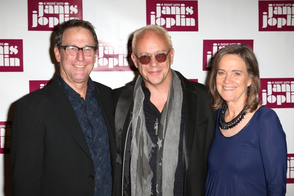 Michael Joplin, Director Randy Johnson and Laura Joplin