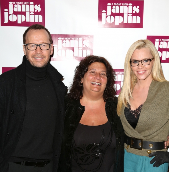 Donnie Wahlberg, Susan DuBow and Jenny McCarthy  Photo