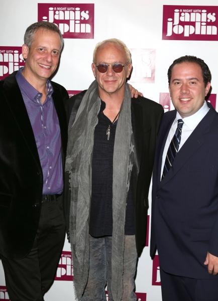 Daniel Chilewich, Randy Johnson, Todd Gershwin  Photo