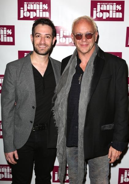 Ross Seligman and Randy Johnson  Photo
