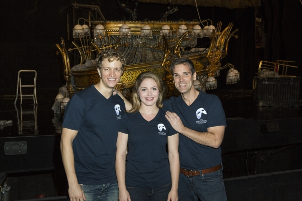 Exclusive Photo Coverage: THE PHANTOM OF THE OPERA  Supports BC/EFA with #Thinkofme Shirts
