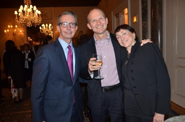 Paul Cadell, Bill Gaden and Ana R. Daniel Photo