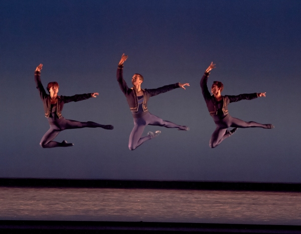 Photo Flash: KC Ballet Fancy Free Fall