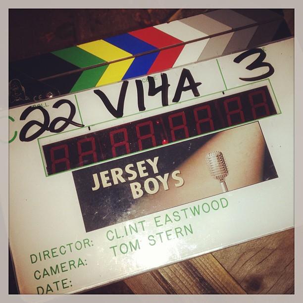 JERSEY BOYS Wraps Principal Photography! Logo Revealed, Stars Tweet & New Photos