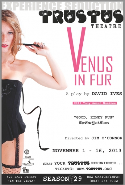Photo Flash: VENUS IN FUR to Play Thigpen Main Stage NOVEMBER 8 - 16