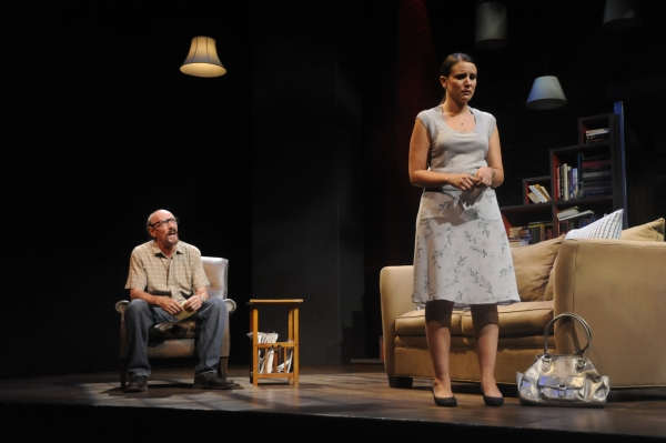 and Lauren Bahlman as Emma and Gordon McConnell as Ben Photo