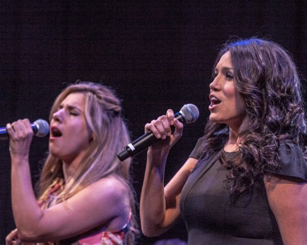 Photo Flash: Stars of JERSEY BOYS, MDQ, VEGAS!, ROCK OF AGES and More Join 'Cast Party' in Vegas