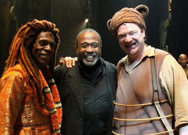 Andre De Shields, Ben Vereen, and Kevin Carolan