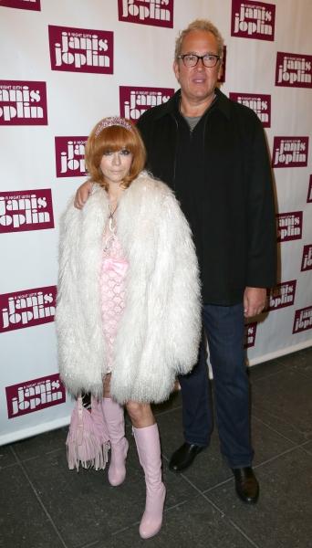Linda Ramone and Jeff Jampol