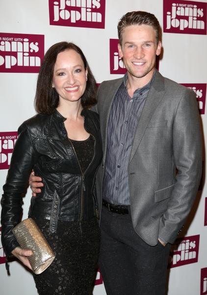 Melissa van der Schyff and Claybourne Elder