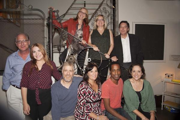 Production members - Top: Judy Heneghan (Author), Lori J. Quinn (Director) and Jim Ha Photo