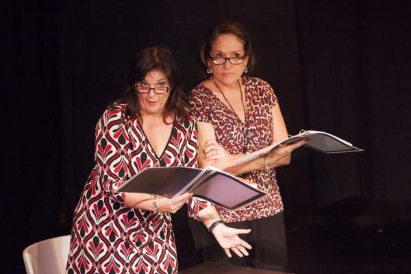 April Audia (Genevieve) and Elena Campbell-Martinez (Delores)  Photo