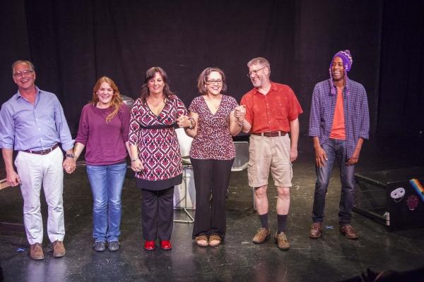 Cast - Michael Halpin, Katharine Kimball, April Audia, Elena Campbell-Martinez, David Photo