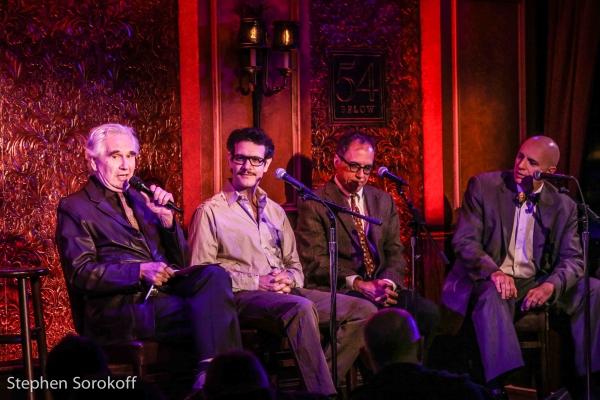 David Finkle, Adam Feldman, David Hajdu, Will Friedwald Photo