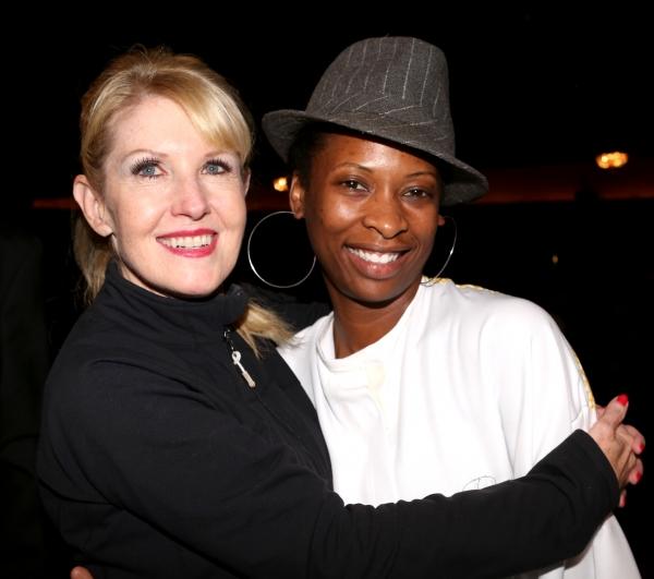 Choreographer Patricia Wilcox and Taprena Michelle Augustine   Photo