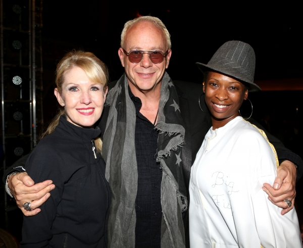 Choreographer Patricia Wilcox, Director Randy Johnson and Taprena Michelle Augustine Photo