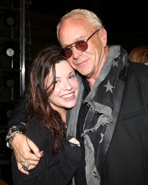 Mary Bridget Davies and Director Randy Johnson