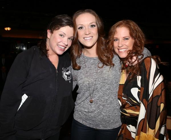 Mary Bridget Davies, Alison Cusano and Kacee Clanton  Photo