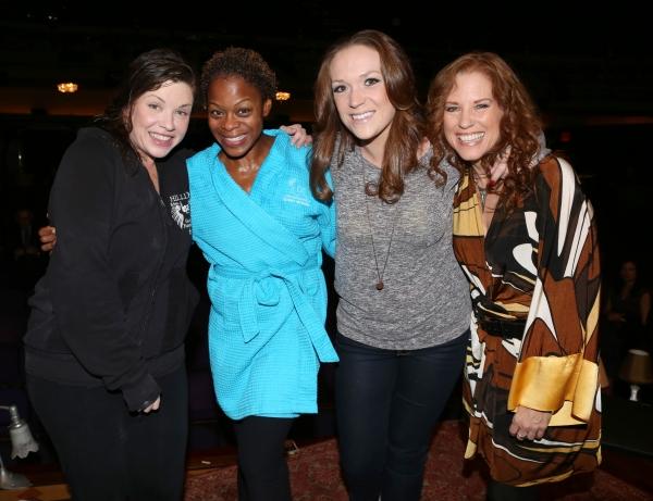 Mary Bridget Davies, Nikki Kimbrough, Alison Cusano and Kacee Clanton