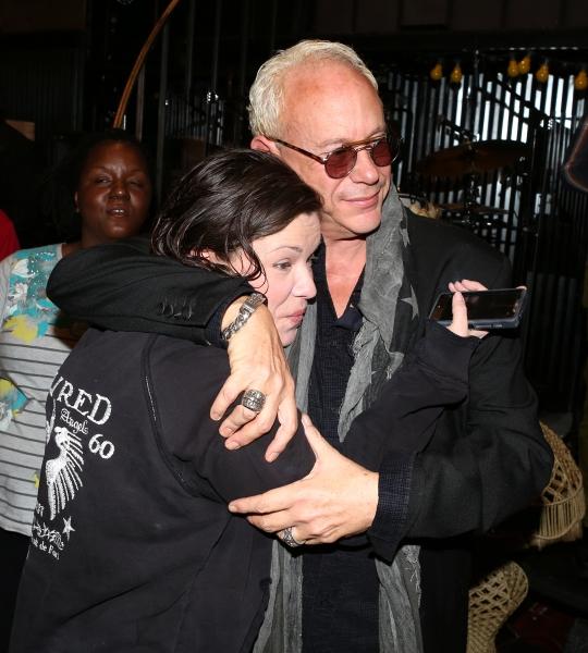 Mary Bridget Davies and Director Randy Johnson  Photo