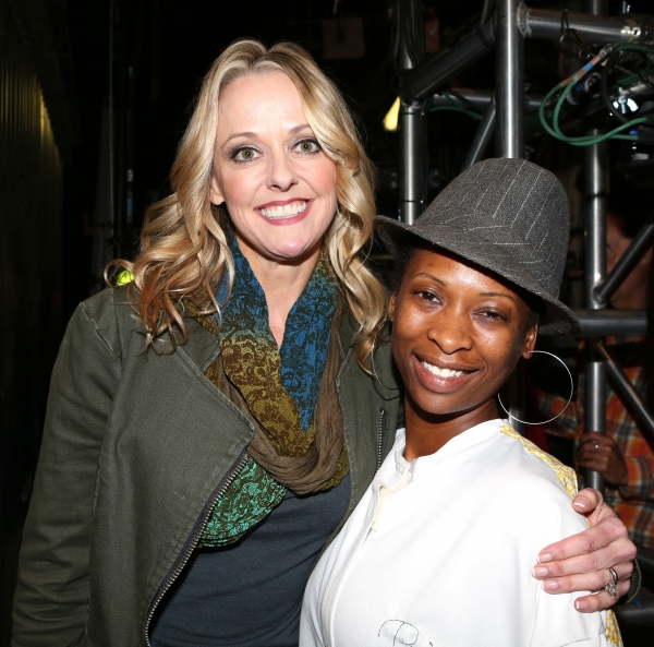 Angie Schworer (''Big Fish'') and Taprena Michelle Augustine