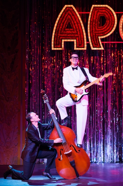 Andy Christopher as Buddy Holly Photo