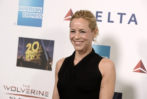 "Actress Maria Bello attends ""Hugh Jackman... One Night Only"" Benefitting MPTF at Dolby Theatre on October 12, 2013 in Hollywood, CA"
