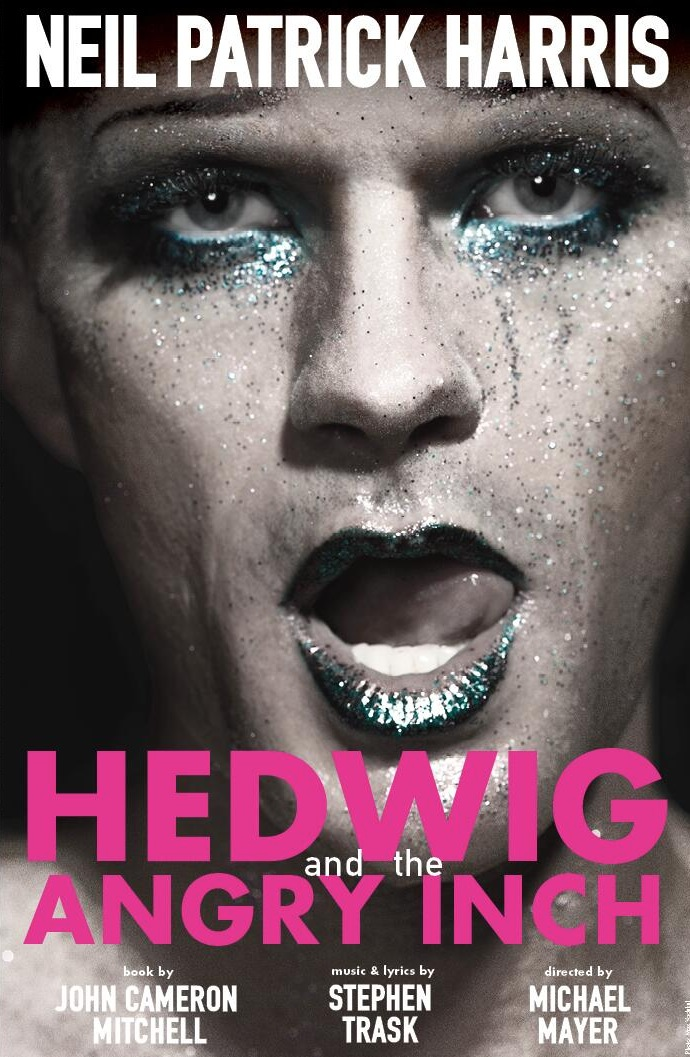 First Look! Neil Patrick Harris Tweets Out First Look at HEDWIG Artwork!
