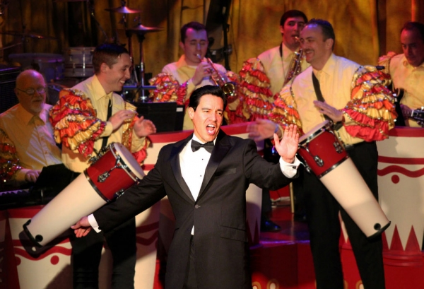 Bill Mendieta as Ricky in the Los Angeles production of I LOVE LUCY® LIVE ON STAGE